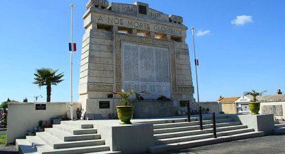 Agde Vibert monument cimetiere